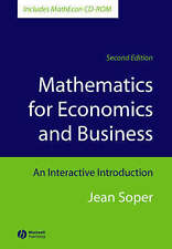 Mathematics for Economics and Business, Includes MathEcon CD-ROM: An-ExLibrary