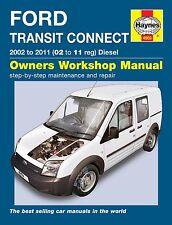 Haynes Owners Workshop Manual Ford Transit Connect Diesel (02-11) SERVICE REPAIR