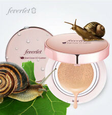 New in Box Charmzone Feverlet Snail Cover CC Cushion  8 in 1 Cushion Pact+Refill