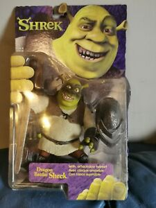 New McFarlane Toys Shrek Dragon Battlin' Shrek Action Figure Boxed