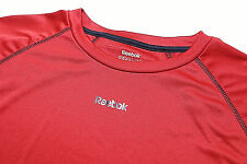 Reebok Men's Jersey Shirt Xl PlayDry Fabric Red Black Stitching Athletic Nwot
