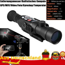 WANNEY Digital Nachtsichtgerät Monokular Video Foto Zielfernrohr Jagdkamera V4P7