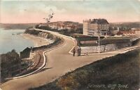 POSTCARD   CORNWALL   FALMOUTH   Cliff   Road