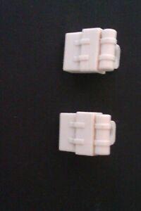LEGO Star Wars 2x Sac a dos blanc pour figurines 7749 8083 75098 8129