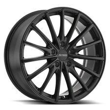 19 inch 19x8 PETROL P3A Matte Black wheel rim 5x4.49 5x114 +40