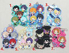Ensemble Stars! Ritsu Sakuma Rei Sakuma izumi Rubber Keychain Keyring Cosplay Be