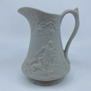 Cream Pitcher British Heritage Collection Portmeirion Dogs Hunter Horse Nature