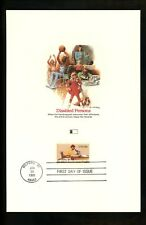 US FDC #1925 Fleetwood Proofcard 1981 Milford MI Year of the Disabled Person