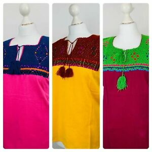 Hand Embroidered Authentic Mexican Top
