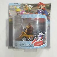 "Mario Kart Wii Pull Back Racers Nintendo Super Mario Bros Donkey Kong 5"" Toy New"