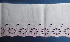 Ancienne broderie Anglaise, dentelle - linge ancien