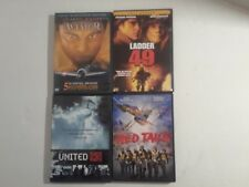 Lot Of 4 DVD Movies Ladder 49_Red Tails_Aviator_United 93