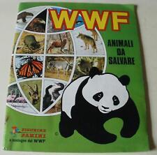 WWF ANIMALI DA SALVARE (ed. Panini 1986 - ALBUM con 263 FIGURINE)