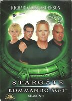AFM53 - DVD STARGATE SG-1 07 TEMPORADA NUEVA UN VISIONADO