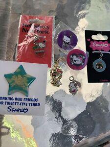 Sanrio Hello Kitty Rare Charms & Pins