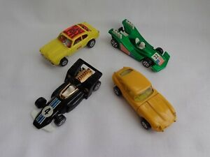 Vintage Corgi Juniors Ford Capri Dragster / Jaguar / Formula 5000 GP Racing Cars