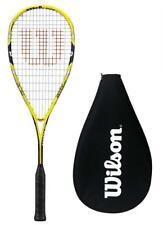 Wilson Blx Amarillo Squash Raqueta Ripper 135 + Cubierta + RRP £ 150
