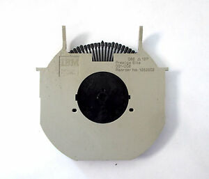 "Genuine IBM Wheelwriter Printwheel II - ""PRESTIGE ELITE"" - 12 Pitch -1353502"