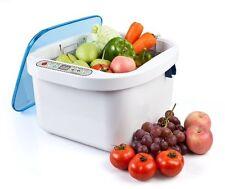 12.8L Home Use Ultrasonic Ozone Vegetable Fruit Sterilizer Cleaner Washer Health