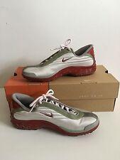 Women's Nike Red and Gray Running, Cross Training Sneakers 8 1/2 m