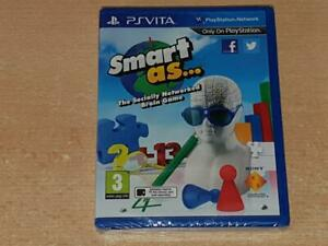 Smart As Playstation Vita PSVita UK Game **BRAND NEW & SEALED**
