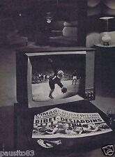 Publicité Advertising 106 1961 Ribet-Desjardin télévision