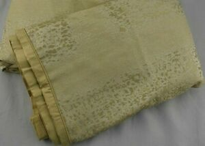 Hotel Collection Patina Gold QUEEN Duvet Cover Retail $370