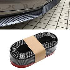 2.5M Universal Carbon Fiber Front Bumper Lip Splitter Body Chin Trim Spoiler Kit