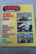 MOTO JOURNAL 614 YAMAHA ZX 550 S MOTOBECANE 50 KW FANTIC 125 HUSQVARNA 240 1983
