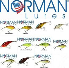 Norman Lures Little N  SHALLOW WATER CRANK  BAIT 6,4cm Rattle 10,5gr  BASS ASPIO