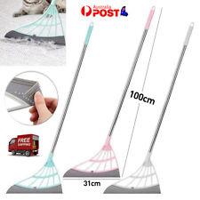 Multifunctional Magic Broom Mop Wiper Scraper Dust Floor Rubber Cleaning Tool AU