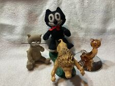 Lot Of Cat Collectibles. Meow. Kittens Lions And Cats