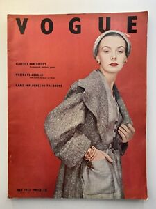 VOGUE Magazine 1952 May COMPLIMENTARY GIFT WRAP  Fast dispatch