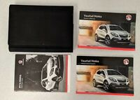 VAUXHALL MOKKA 2012-2016 OWNERS MANUAL HANDBOOK INFOTAINMENT WALLET PACK M-113