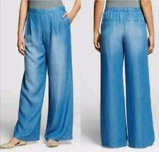c89b15581290b NEW Women's Tencel Wide Leg Denim Pant by Merona, Free Shipping 2XL