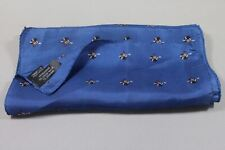 "CRAVAT CLUB men's silk scarf 55""x13"" made in Italy"