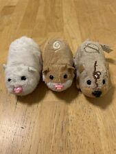 Zhu Zhu Pets Hamster Lot of 3