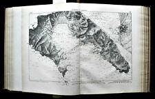 1881 Orig.Mappa Militare MARGA.CARTA DI LA SPEZIA E LIVORNO.ITALY.TOSCANA