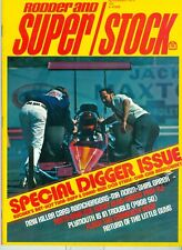 RODDER AND SUPER/STOCK NOVEMBER 1973, BUTCHER'S RAT, HOT TUNA-RUPP & DAKIN