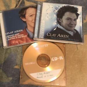 (3) Clay Aiken CD's