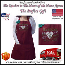 Personalized Embroidery Aprons Kitchen, Christamas Gift, Grandma, Hair Stylist 2