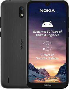 "Nokia 1.3 5.7"" BLACK 1GB 16GB LATEST Android 10, WiFi Dual Sim Unlocked/SimFree"