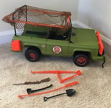 Vintage 1973 Mattel Big Jim Jungle Patrol Safari Truck
