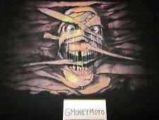 1999 UNIVERSAL STUDIOS HALLOWEEN HORROR NIGHTS HHN 9 BLACK T-Shirt Mens LOOSE XL