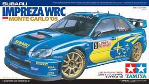 Tamiya 24281 1/24 Scale Model Rally Car Kit Subaru Impreza WRC 2004 WRC'05