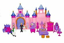 PINK PRINCESS MUSICAL CASTLE PLAY SET LIGHT & MUSIC FOR GIRLS GIFT TOY CHILDREN