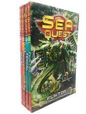 Sea Quest Collection Adam Blade 4 Books Set Series 6 Pack Inc Tengal, Kull