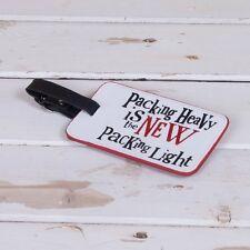 Etiqueta del equipaje pesado de embalaje es la nueva etiqueta de embalaje luz el lado positivo Nuevo
