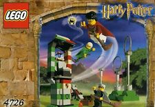LEGO HARRY POTTER 'QUIDDITCH PRACTICE' #4726 ALL FIGURES 100% COMPLETE GUARANTEE