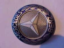 Vintage 1957 Mercedes Benz Cloisonne Badge 'Vee' Shape, Excellent, Original